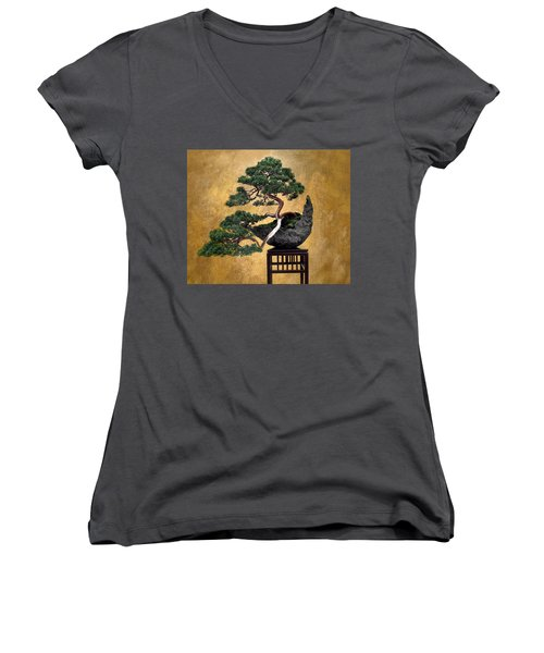 Bonsai 3 Women's V-Neck