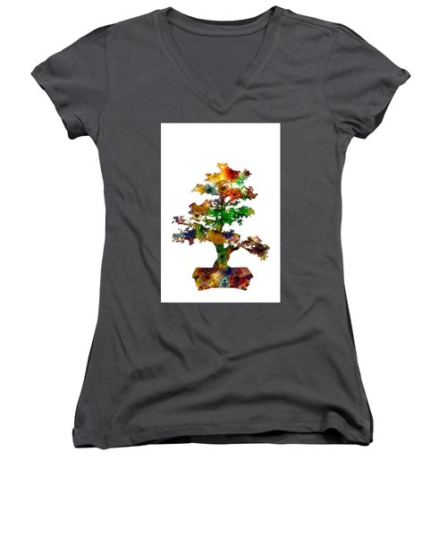 Bonsai Women's V-Neck