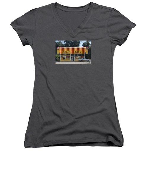 Boom Boom Women's V-Neck T-Shirt