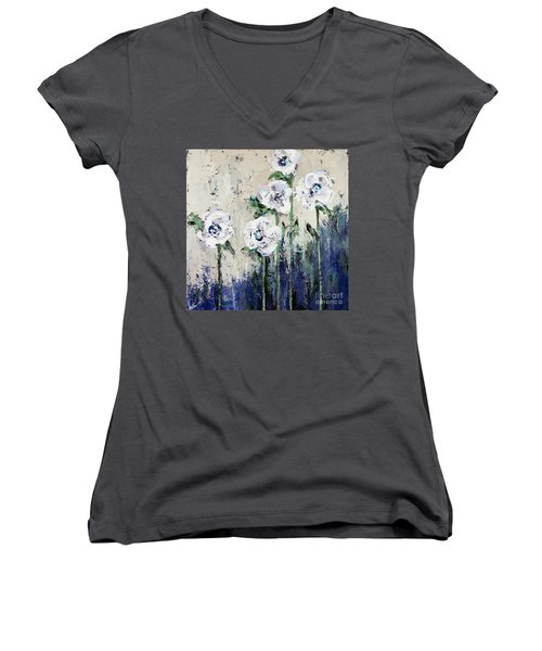 Bottom Of The Sea Women's V-Neck (Athletic Fit)