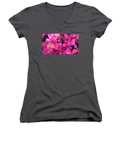 Bougainvillea Women's V-Neck