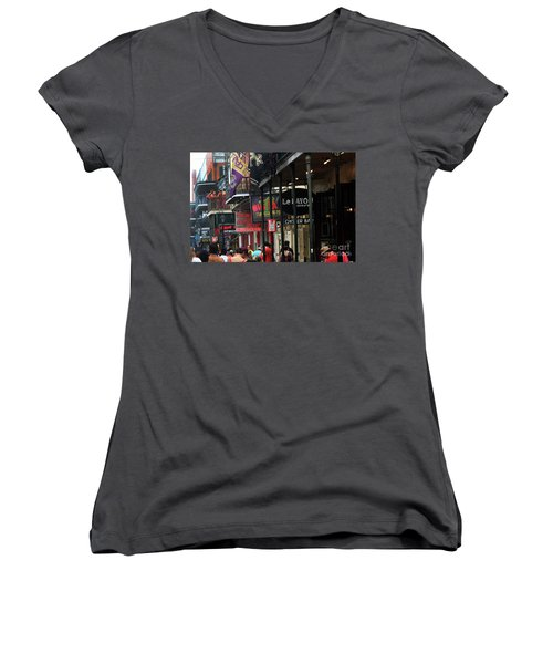 Bourbon Street Women's V-Neck T-Shirt
