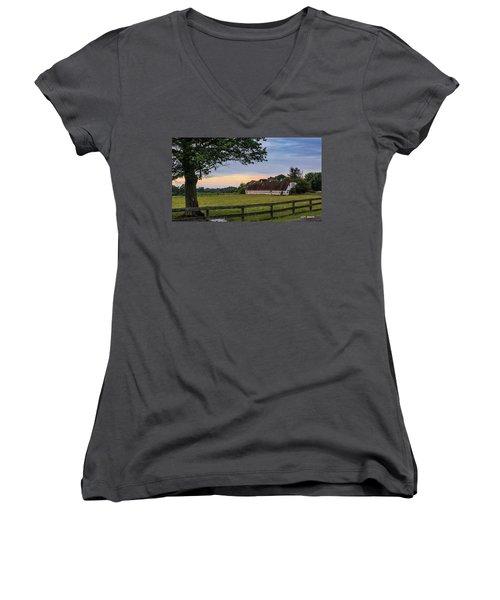 Boxwood Farm Women's V-Neck T-Shirt