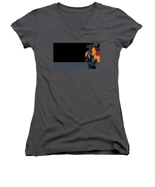 B.p.r.d. The Universal Machine Women's V-Neck T-Shirt