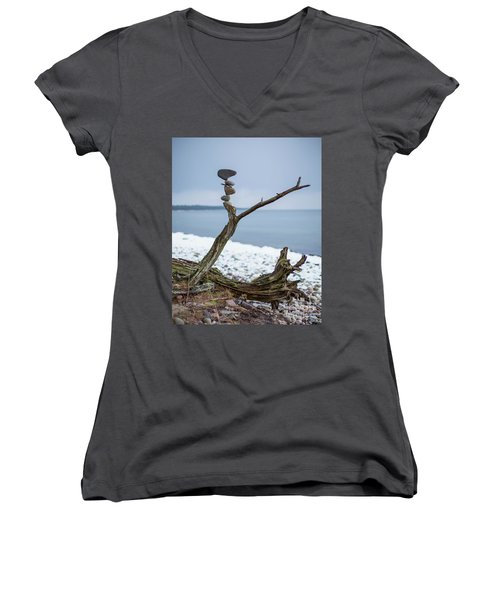 Branching Out Women's V-Neck