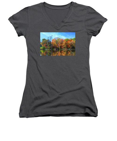 Breathless Women's V-Neck T-Shirt