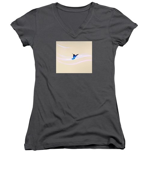 Breeze Wings Women's V-Neck (Athletic Fit)