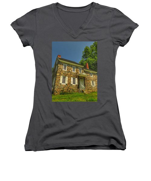 Bricks And Mortar Women's V-Neck T-Shirt