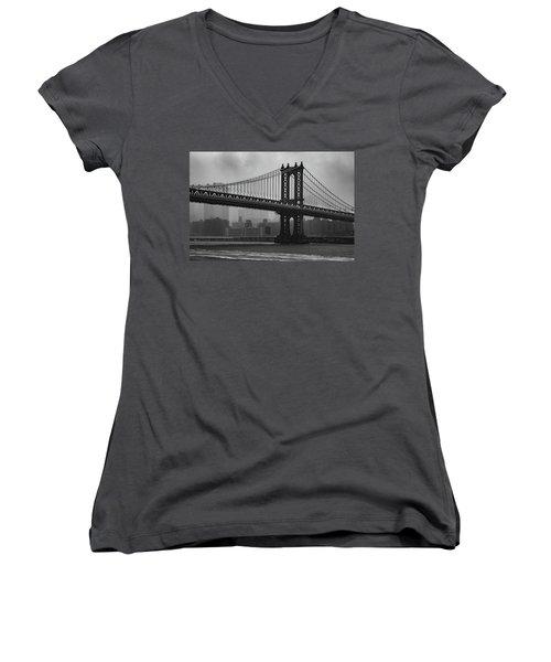 Bridge Over Troubled Water Women's V-Neck