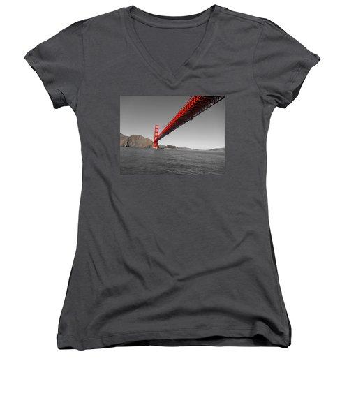 Bridgeworks Women's V-Neck T-Shirt