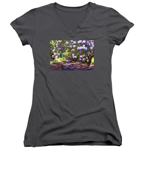 Bright And Beautiful Spring Blossom Women's V-Neck (Athletic Fit)