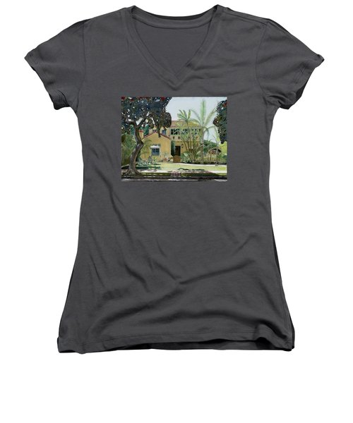 Bright And Sunny Women's V-Neck