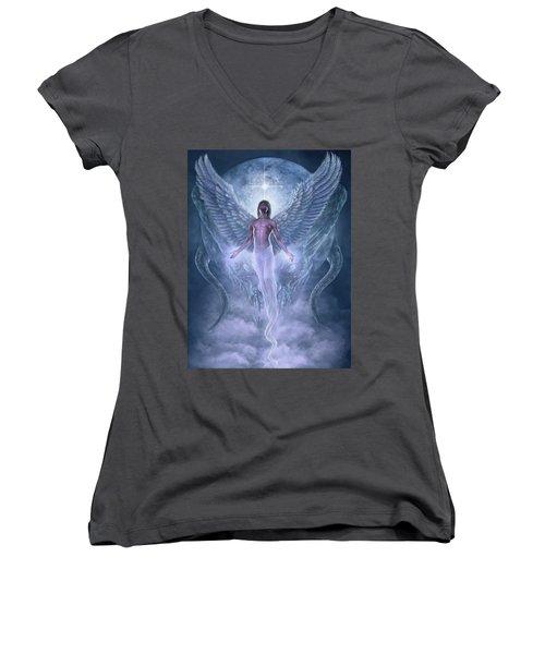 Bringer Of Light Women's V-Neck T-Shirt