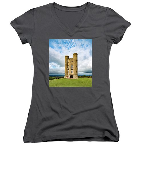 Broadway Tower Women's V-Neck (Athletic Fit)