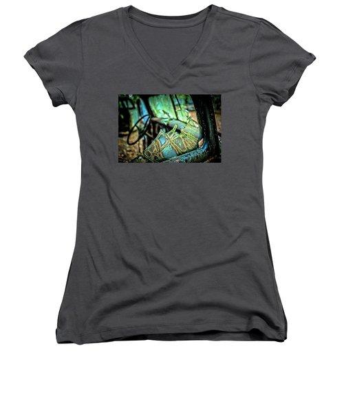 Broken Dreams Women's V-Neck T-Shirt