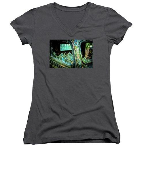 Broken Glass Women's V-Neck T-Shirt
