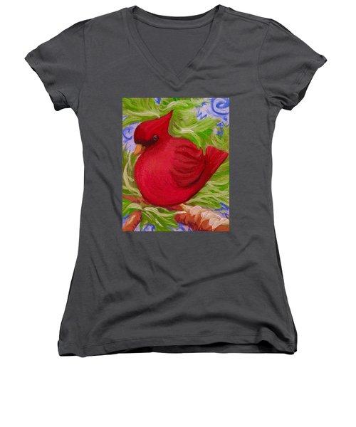 Brrr Bird Women's V-Neck