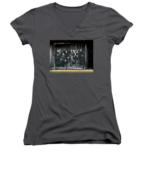 Bruce And The E Street Band Women's V-Neck (Athletic Fit)