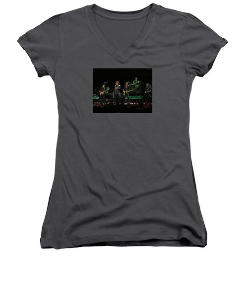 Bruce Springsteen And The E Street Band Women's V-Neck (Athletic Fit)
