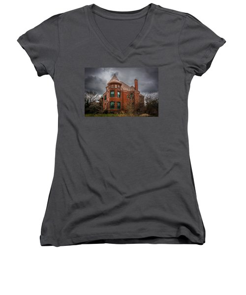 Brush Park  Women's V-Neck T-Shirt