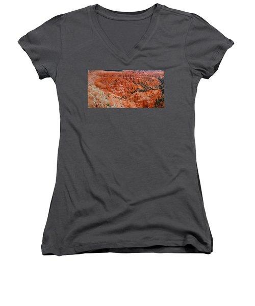 Bryce Canyon Megapixels Women's V-Neck