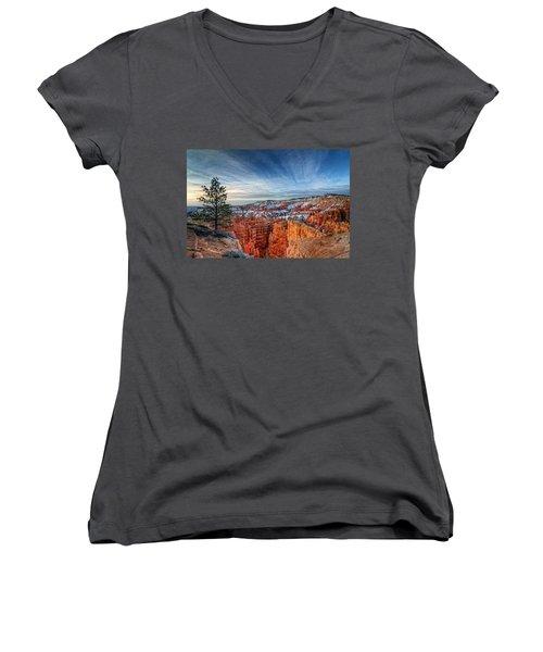 Bryce Canyon Sunrise Women's V-Neck