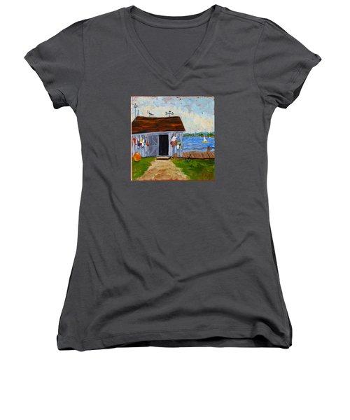 Buoys Will Be Buoys Women's V-Neck T-Shirt