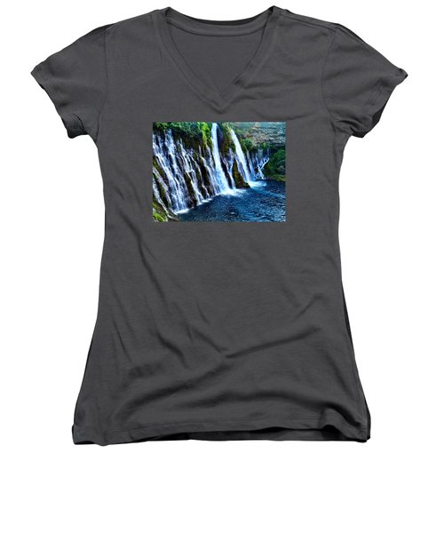 Burney Falls Women's V-Neck (Athletic Fit)