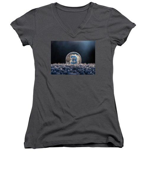 Burst Before Exploding Women's V-Neck T-Shirt