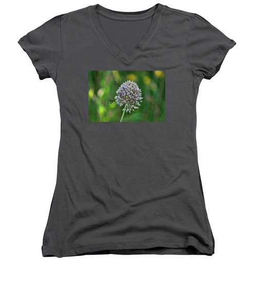 Busy Bee Women's V-Neck T-Shirt