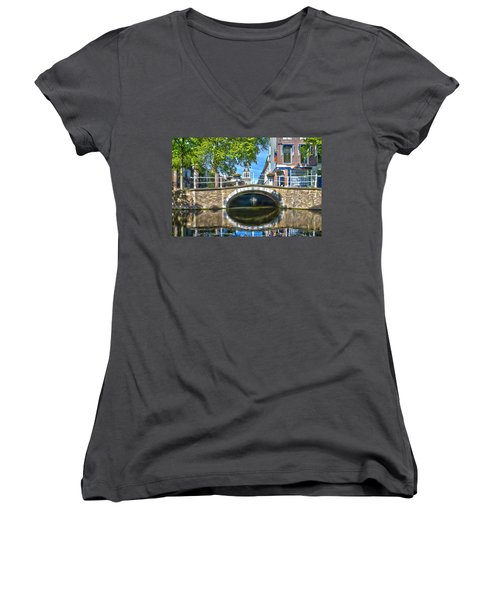 Butter Bridge Delft Women's V-Neck