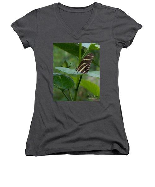 Butterfly 2 Women's V-Neck