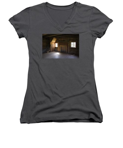 Cabin Home Women's V-Neck T-Shirt