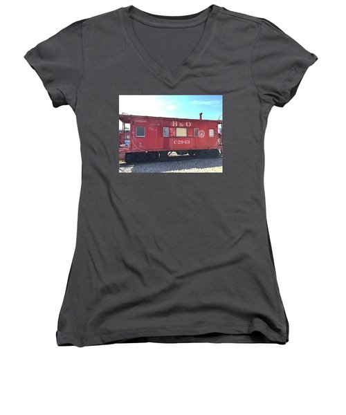 Caboose Women's V-Neck