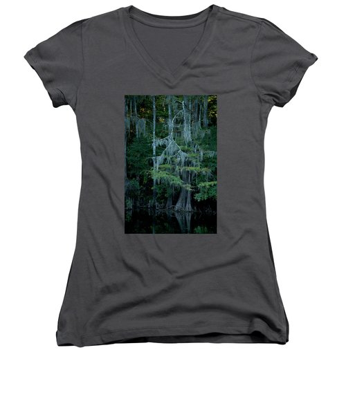 Caddo Lake #4 Women's V-Neck