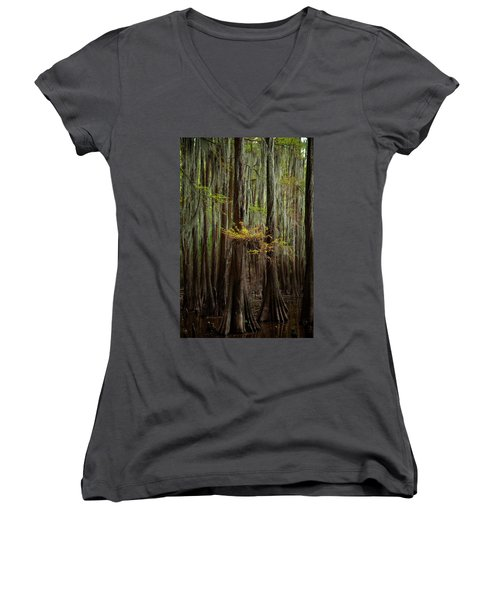 Caddo Lake #5 Women's V-Neck