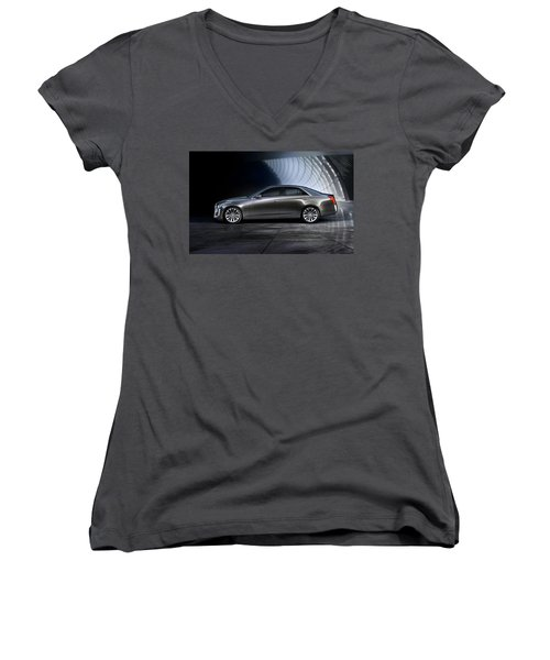 cadillac CTS Women's V-Neck