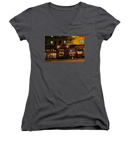 Cafe De La Presse On Bush St Women's V-Neck