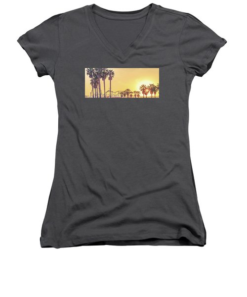 Cali Vibes Women's V-Neck (Athletic Fit)