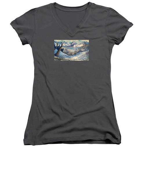 Call Of Eternal Spring Women's V-Neck (Athletic Fit)