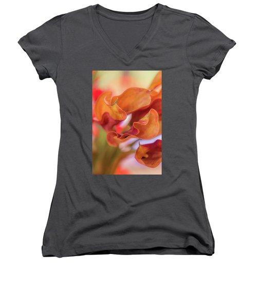 Calla Lilies Women's V-Neck