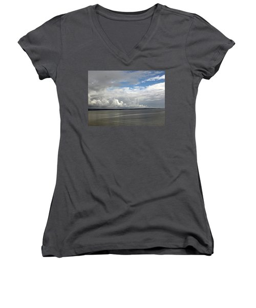 Calm Sea Women's V-Neck