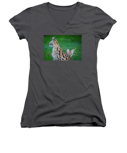 Can You See Me? Women's V-Neck T-Shirt