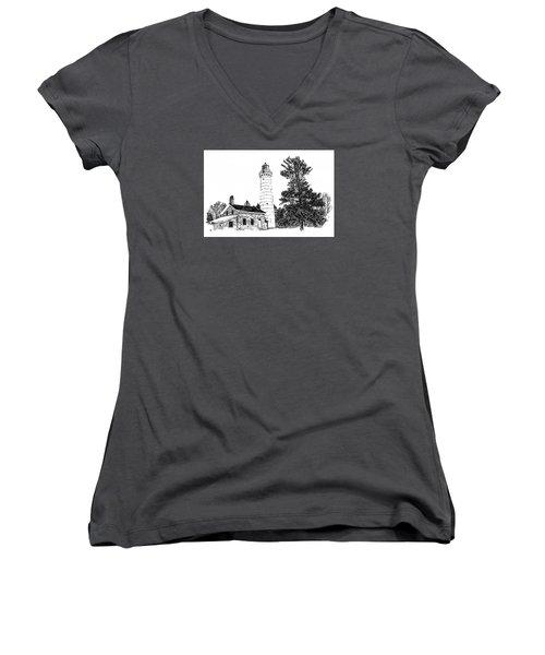 Cana Seldom Seen Women's V-Neck T-Shirt