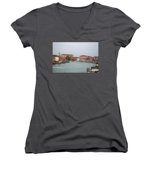 Canal Of Murano Women's V-Neck