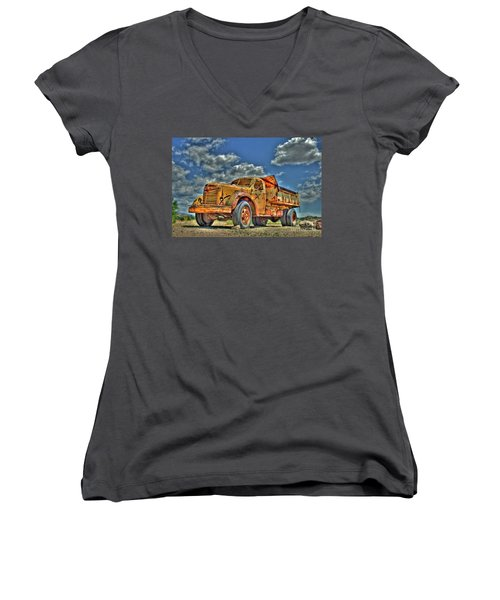 Canyon Concrete 3 Women's V-Neck