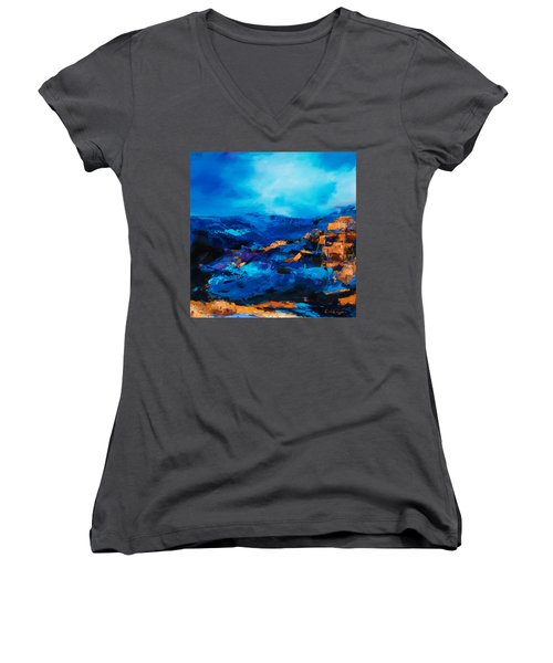 Canyon Song Women's V-Neck (Athletic Fit)
