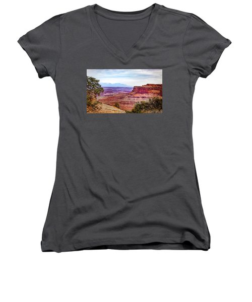 Canyonlands National Park Women's V-Neck