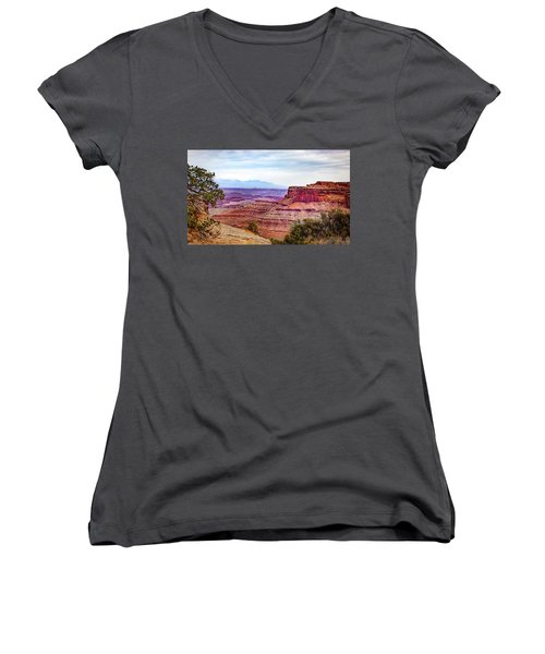 Canyonlands National Park Women's V-Neck