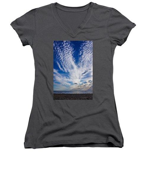 Cape Clouds Women's V-Neck